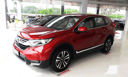 New Honda CRV Model Baru 2019